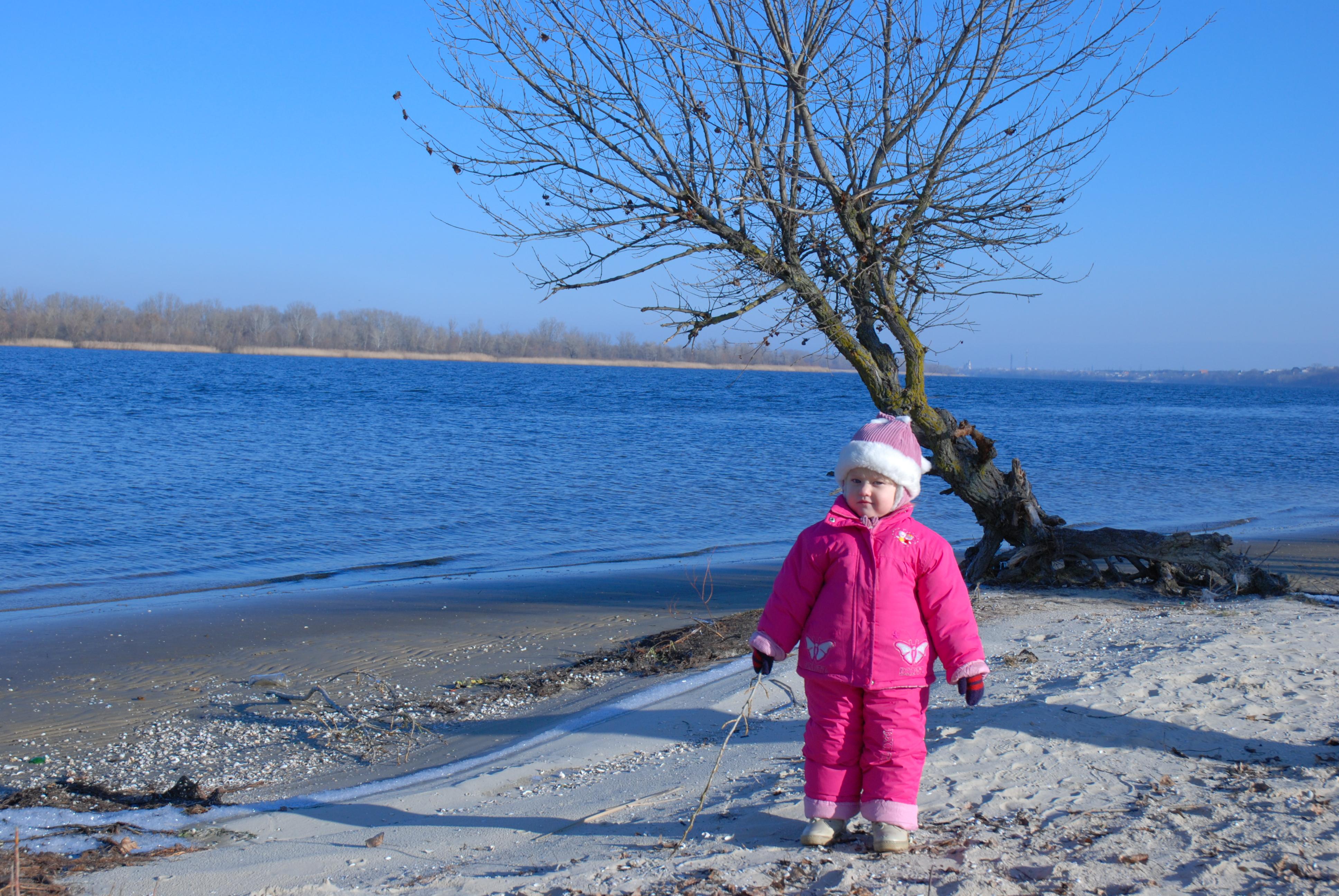 Узбережжя в січні.