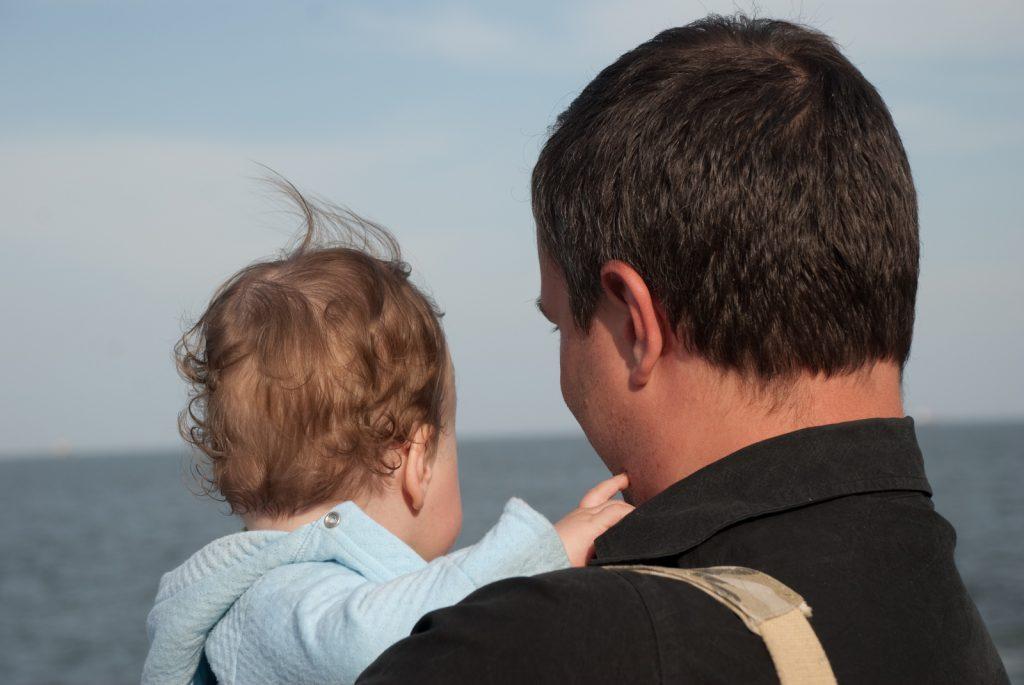 батько і син море і мрії