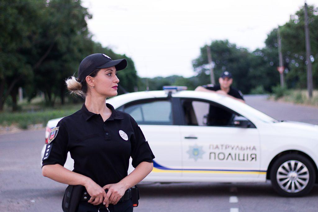 Жінка в поліції