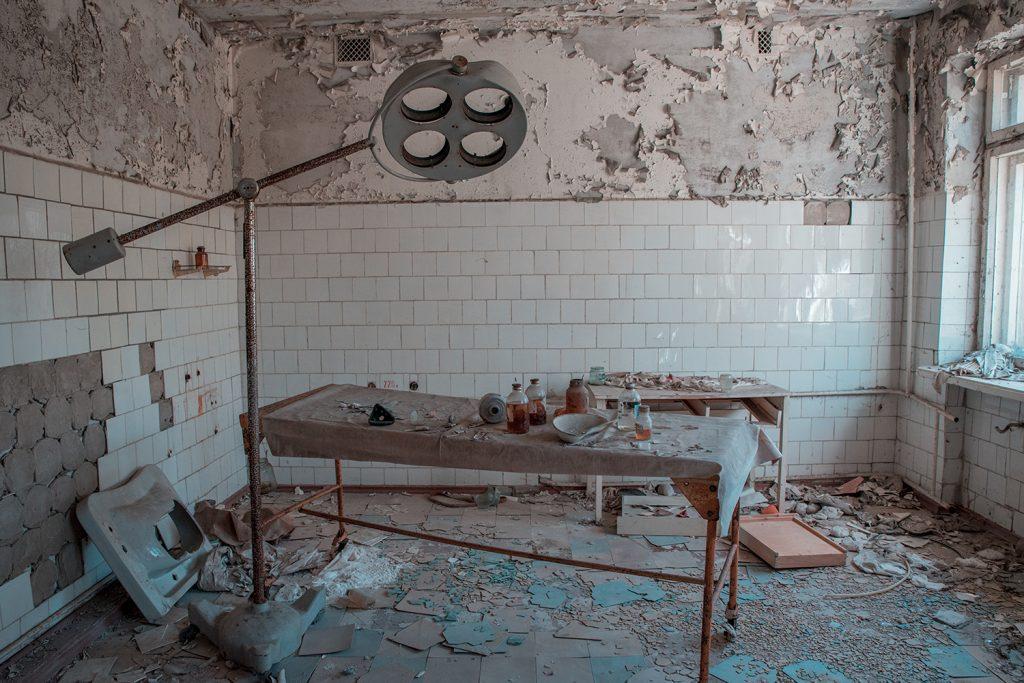 Больница в Припяти